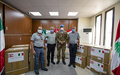 Italian peacekeepers donate ventilators to Tyre hospitals