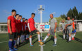 Tayr Dibbah team beats UNIFIL peacekeepers in friendly football