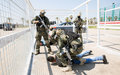 Korean peacekeepers conduct counter-terror training with Internal Security Forces
