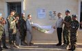 LED street light project, co-funded by municipality and UNIFIL, inaugurated in Blida
