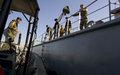 قوة اليونيفيل البحرية تدرّب البحرية اللبنانية