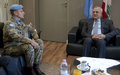 الرئيس ميشال سليمان يزور اليونيفيل