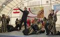 Assi El Hellani celebrates Lebanese Independence  with UNIFIL