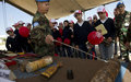 Cluster bomb survivor spreads awareness