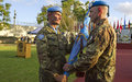 Major-General Luciano Portolano takes over Command of UNIFIL