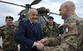 Deputy Prime Minister and Minister of Defence accompanies LAF Commander in visit to UNIFIL