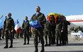 اليونيفيل تكرّم جندي حفظ السلام الذي فقد حياته يوم أمس
