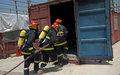 تدريب مشترك بين اليونيفيل والدفاع المدني اللبناني لمكافحة الحرائق