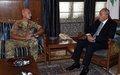 رئيس بعثة اليونيفيل وقائدها العام يلتقي رئيس مجلس النواب ورئيس الحكومة
