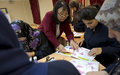 أطفال الجنوب يستكشفون تصاميم طي الورق
