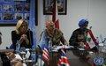 بورتولانو يلتقي سفراء الدول المساهمة، الأعضاء الدائمين في مجلس الأمن الدولي وممثل الاتحاد الأوروبي
