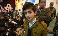 أطفال لبنان وإسبانيا يحتفلون بالميلاد في مرجعيون
