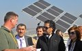 UN ambassador for Climate Change Ragheb Alama visits UNIFIL's environmental facilities