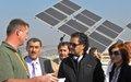 سفير الأمم المتحدة للتغير المناخي راغب علامة يتفقد مرافق اليونيفيل البيئية