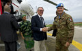 Deputy Secretary-General Jan Eliasson visits UNIFIL