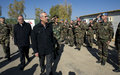 President Sleiman visits UNIFIL, meets injured French soldiers