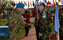 UNIFIL Force Commander Transfer Of Authority, 28 January 2010