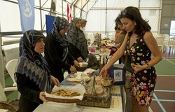 Local Food and Handicrafts Expo in Naqoura, 18 October 2012