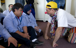 UNIFIL clown therapist revives children with special needs