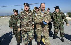 LAF Commander General Jean Kahwagi visits UNIFIL in Naqoura