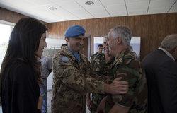 القائد العام لليونيفيل يلتقي مسؤولين محليين في جنوب لبنان