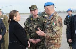 اليونيفيل تكرّم جندي حفظ السلام الذي فقد حياته
