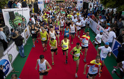 UNIFIL runs the ISF half-marathon