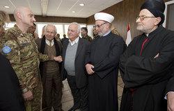 اليونيفيل تستضيف سلطات محلية وقادة روحيين
