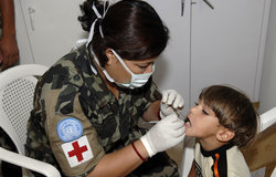 Medical assistance provided by UNIFIL