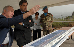 Under-Secretary-General for United Nations Department of Peacekeeping Operations Alain Le Roy visits Lebanon